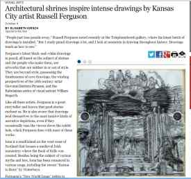 Russell Ferguson Reviewed by Elisabeth Kirsch , Kansas City Star