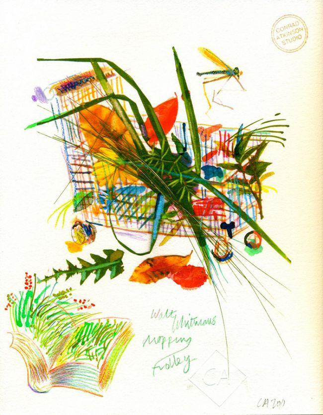Conrad Atkinson Walt Whitmans Shopping Trolley