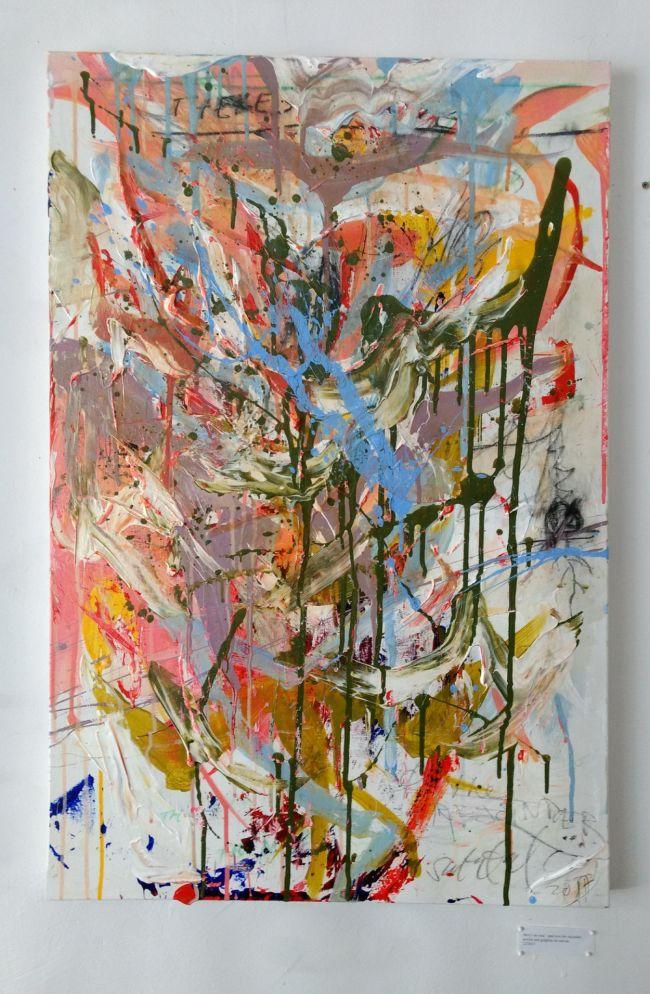Sean Semones Painting on canvas 3, 2018