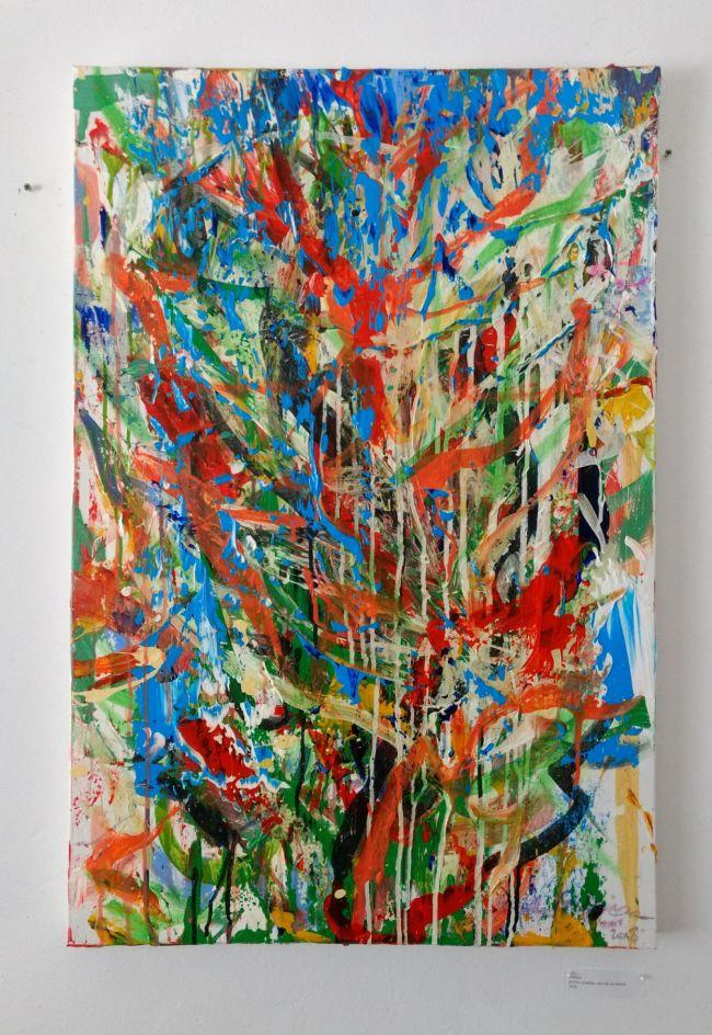 Sean Semones Painting on canvas 4, 2018