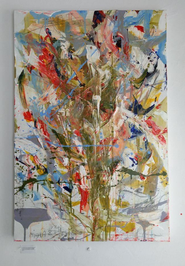 Sean Semones Painting on canvas 5, 2018