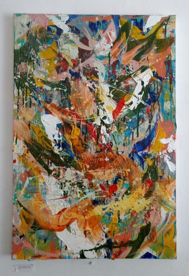 Sean Semones Painting on canvas 1, 2018