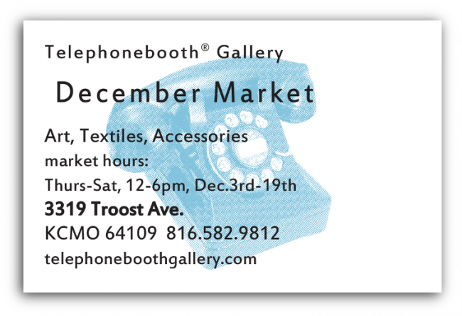 December Market invite