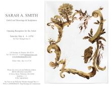 Sarah Smith Opening at Beth Urdang Gallery Saturday, May 4th
